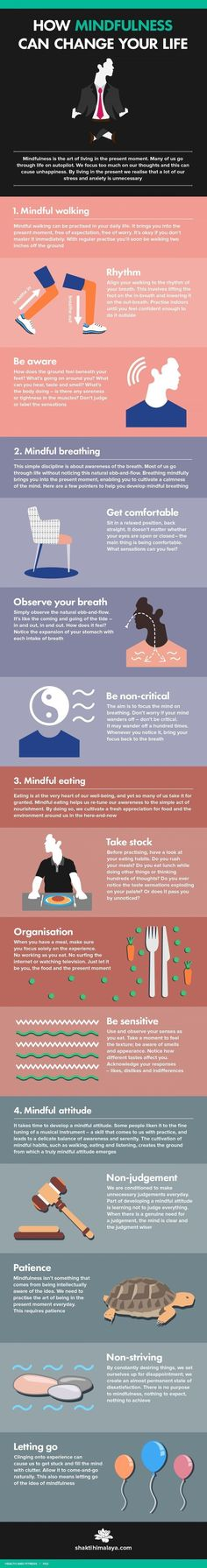 How Mindfulness Can Change Your Life happy life happiness positive emotions mental health self improvement self help emotional health mindfulness mindful