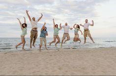 Despedida de solteira: noiva com amigas. #despedidadesolteiro #despedidadesolteira #amigos #praia