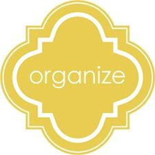 Organizing tips focused on different problems spots in the house (i.e. junk drawer, home office, tupperware, etc.)