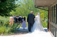Father and bride shot. This was a September wedding.  #prairiegardenwedding #dyckarboretum #kansaswedding