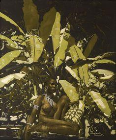 Jacques Majorelle - Sous les bananiers