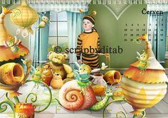 Baby Bee Garden (With Everything In It!) by Lorie Davison