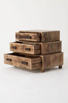Night Stand / repurposed wood