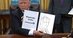 Jak naszkicował Cię Donald Trump?