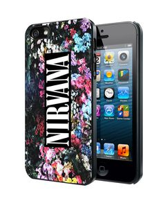 Nirvana Floral Samsung Galaxy S3/ S4 case, iPhone 4/4S / 5/ 5s/ 5c case, iPod Touch 4 / 5 case
