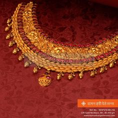 A #breathtaking #designer #gold #necklace from our brand new collection.