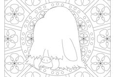 Free printable Pokemon coloring page-Piloswine. Visit our page for more coloring! Coloring fun for all ages, adults and children Pokemon Coloring Pages, Coloring Book Pages, Printable Coloring Pages, Coloring Sheets, Papercraft Pokemon, Coloring For Kids, Coloring Stuff, Pokemon Cross Stitch, Fun Crafts