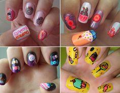 nail arts de doces