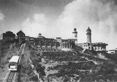 Funicular Tibidabo.1913. Barcelona