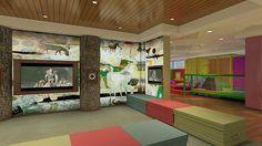 Royal Princess Kids Center - Pelicans  by Princess Cruises, via Flickr