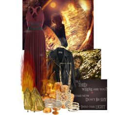 """The Hobbit: Smaug the Stupendous"" by one-gleeful-game-at-twilight on Polyvore"