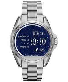 Michael Kors Access Women's Digital Bradshaw Stainless Steel Bracelet Smart Watch 45mm MKT5012 $350.00 Keep on track and stay in touch with this multi-tasking Bradshaw smartwatch by Michael Kors.