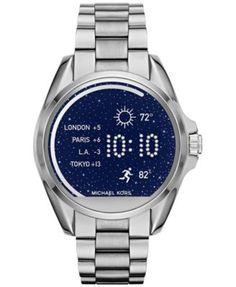 Michael Kors Access Women's Digital Bradshaw Stainless Steel Bracelet Smartwatch…