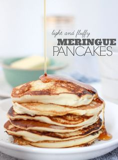 I grew up making this joy of cooking recipe and a finer homemade fluffy meringue pancakes pancake recipe without baking powder baker bettie ccuart Choice Image