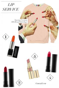 4 Go-to Colors for a Power Lip