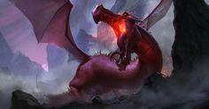 Red Dragon, Even Amundsen on ArtStation at http://www.artstation.com/artwork/red-dragon