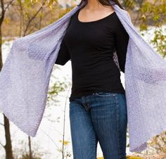 Elegant Wrap by Cascade Crochet Kit