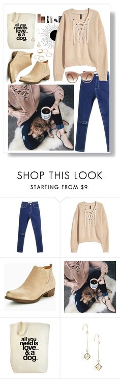 """comfortable look"" by lilianx ❤ liked on Polyvore featuring Clarks, Chicwish, Dogeared and STELLA McCARTNEY"