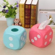 Fancy - Home Towel Tissue Paper Box Holder Dispenser Cover Paper Box