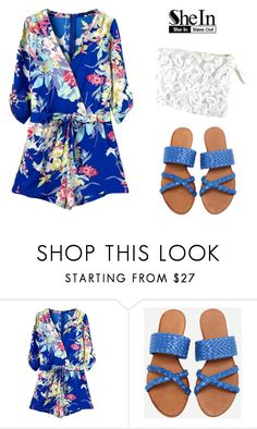 """""""shein style"""" by sheinside on Polyvore"""