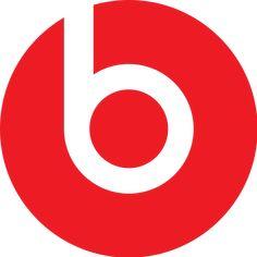 (Dr Dre Beats Logo) The positive space looks like a bullseye and the negative space looks like a b.