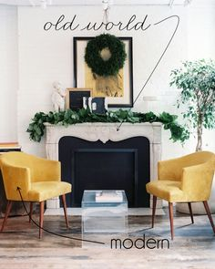 Two Styles, One Room: Modern meets Old World | La Dolce Vita