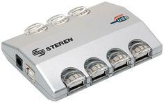 #OFERTA DEL DIA! A SOLO $250  #STEREN #HUB DE #ESCRITORIO #USB 2.0 DE 7 PUERTOS USB-527 #niish #ofertadeldia