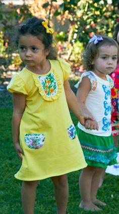 Mod Shift Dress for Toddler