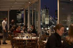 Blueprint Café    Butlers Wharf  28 Shad Thames  London SE1 2YD  (Bermondsey, Shad Thames)