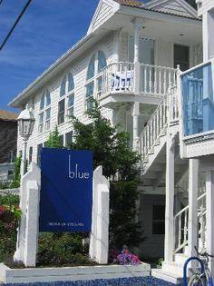 blue, The Inn on the Beach.  Plum island, MA lovely place for a long weekend
