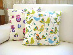 Pretty pillows - spring home decor ideas #KBHome