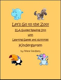 This is an ELA Reading Unit for Kindergarten with complete lesson plan and Common Core Standards. It includes Vocabulary Word Sort, Make and Take Book, Comprehension Questions, Main Idea and Details Worksheet, and more... $Tpt