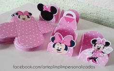 Forminha de Doce - Baby Disney Mickey Mouse Theme Party, Mickey E Minnie Mouse, Minnie Mouse Birthday Decorations, Minnie Mouse 1st Birthday, Disney Diy, Birthday Display, Boy Shower, Baby Shower Themes, Disney Birthday
