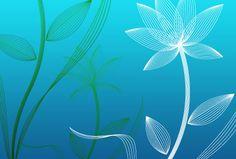 Pretty Leaves Background   ... creating website header banner wallpaper background large print etc
