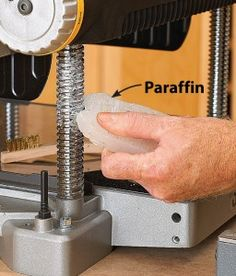 TOOL TIP::  Paraffin wax for better planing.