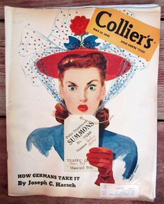 Old Colliers Magazines | SALE - Vintage Collier's Magazine May 17, 1941