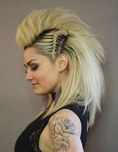Faux Hawks: 20 Fresh Looks for Fashion Trendsetters