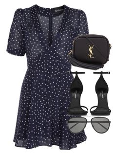 """""""Untitled #3071"""" by elenaday ❤ liked on Polyvore featuring Yves Saint Laurent and Linda Farrow"""