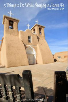 Visiting Santa Fe? Here are 5 things to do in the Santa Fe area - rivers to churches to a quirky gasoline museum - Santa Fe, New Mexico (USA) has a lot to offer! Things to do in Santa Fe. | Rio Grande Gorge |  Abiquiu – Plaza Blanca | Rio Chama | High Road to Taos – Santuario de Chimayo | Taos and Taos Pueblo | Classical Gas Museum