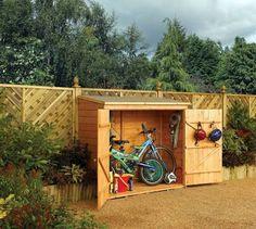 Abri vélo en bois 1.50m² rowlinson