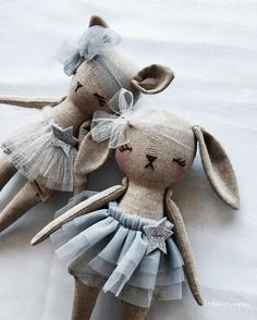 Little Miss Tippy Toes bunnies