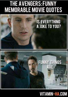 Gotta love Iron Man haha