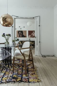 A fab Danish home with a Moroccan twist