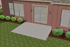 How to Install Larger Paver Patio Over Existing Smaller Concrete Patio