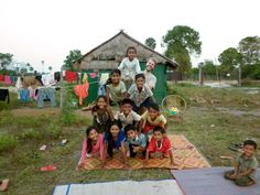 Nice #pyramid by kids at #CircusKampot | កំពត សៀក