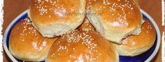 Burgerbrötchen - Bee Creative Kult, Hamburger, Bread, Creative, Food, Food Food, Breads, Baking, Hamburgers