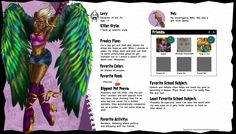 Monster High Levy by Saprowan.deviantart.com on @deviantART