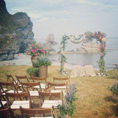 La ceremonia más bonita, la de Sandra y Adán en un entorno mágico, en Luarca, Asturias.