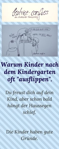 Wie geht es euch und den Kindern nach dem Kindergarten?