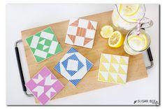 DIY Tile Coasters, B